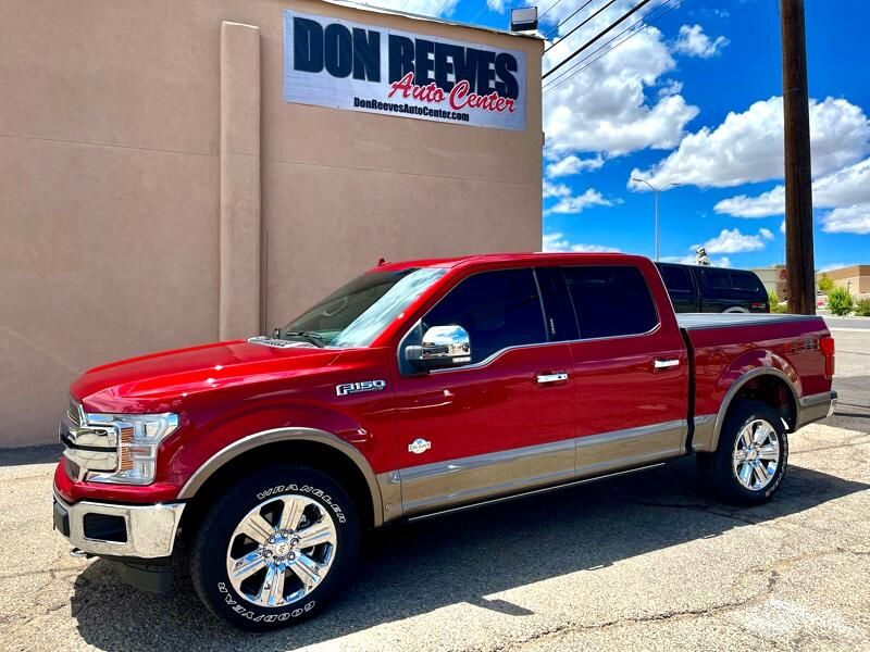 Ford F-150 King-Ranch SuperCrew 5.5-ft. 4WD 2019