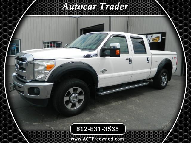 "2011 Ford F-250 HD Crew Cab Supercrew Lariat 152.2"" WB 4WD"