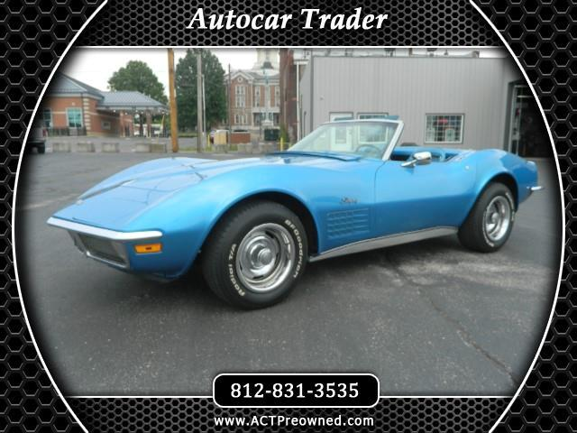 1970 Chevrolet Corvette 2dr Stingray Conv w/3LT
