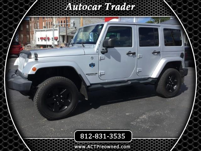 2012 Jeep Wrangler Unlimited Sahara 4WD Arctic Edition