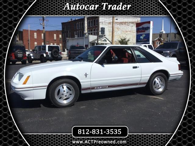 1984 Ford Mustang GT 2-Door Hatchback