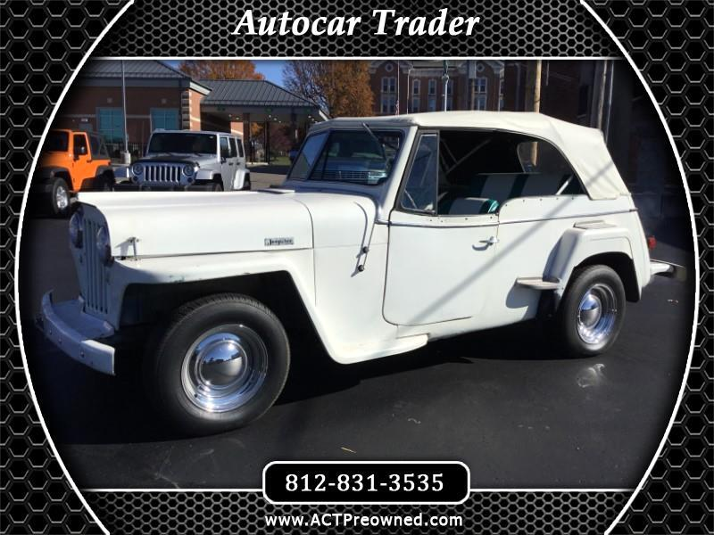 1949 Willys Jeepster open convertible