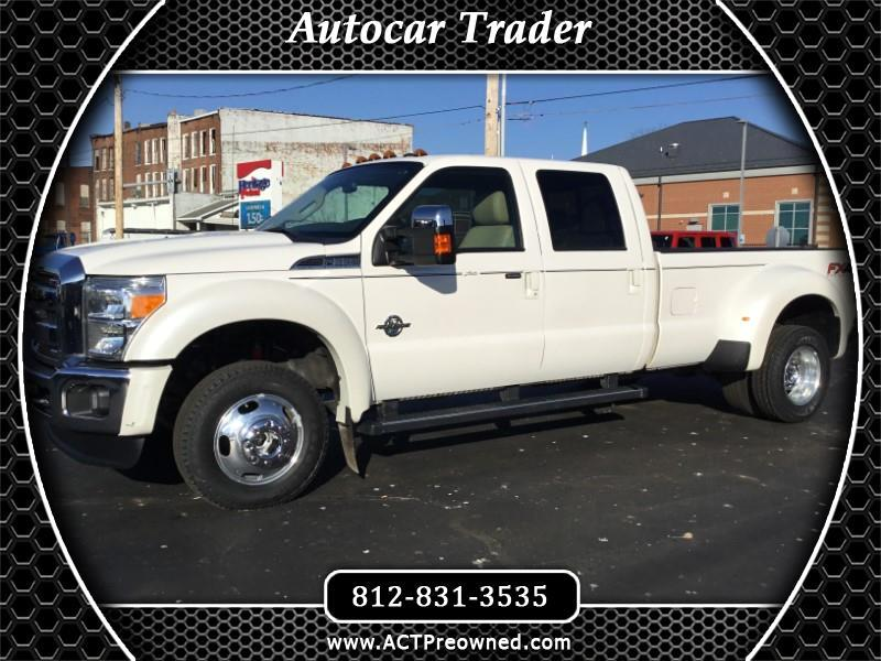 2016 Ford F350 Lariat Crew Cab Long Bed DRW 4WD