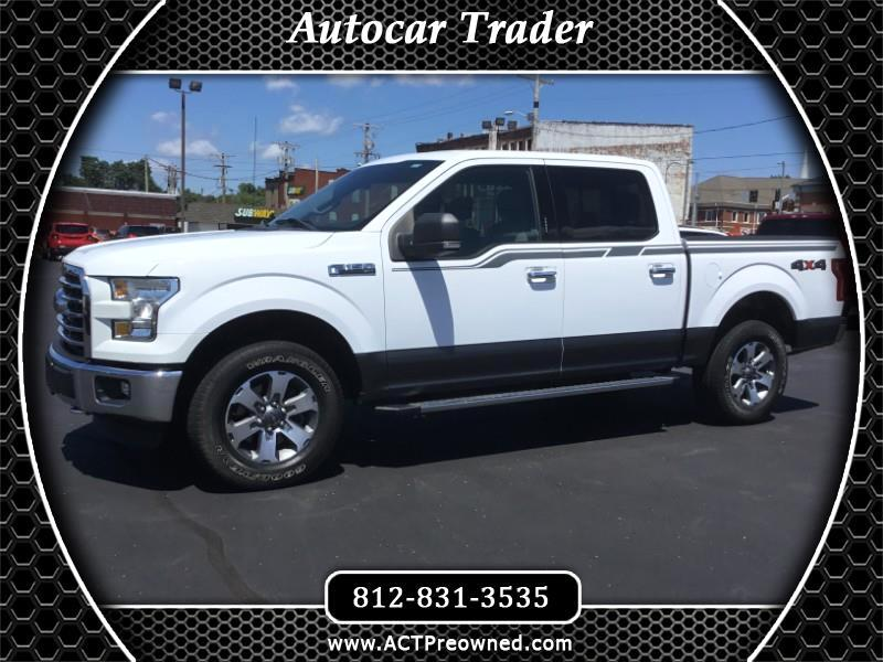 "2016 Ford F-150 4WD SuperCrew 139"" XLT"
