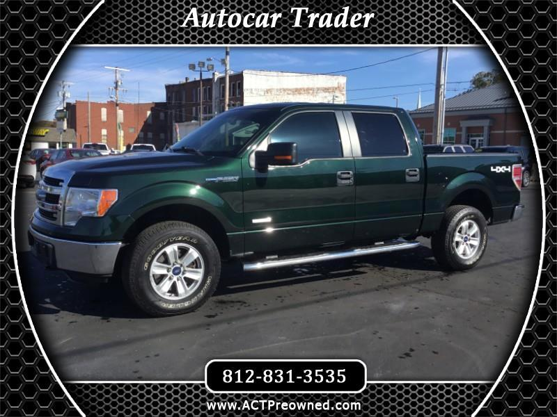 2013 Ford F150 XLT SuperCrew 6.5-ft. Bed 4WD