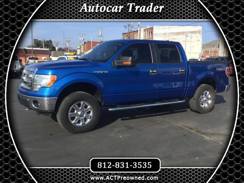 Ford F-150 XLT 4WD SuperCrew 5.5' Box 2013