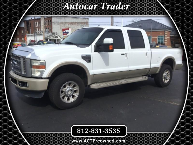 Ford F-250 SD King Ranch Crew Cab 4WD 2010