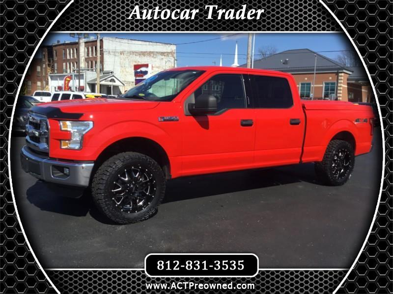 Ford F-150 XLT SuperCrew 6.5-ft Box 4WD 2015
