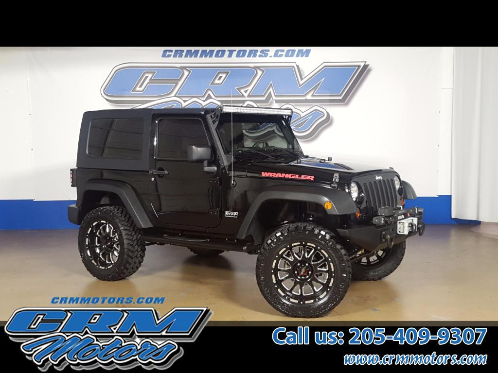 2009 Jeep Wrangler 4WD 2DR SUPERCHARGED, LIFTED, WHEELS, TIRES!