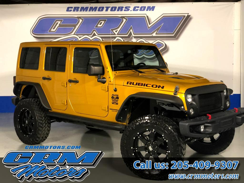 2014 Jeep Wrangler CUSTOM RUBICON, LIFTED, WHEELS, TIRES