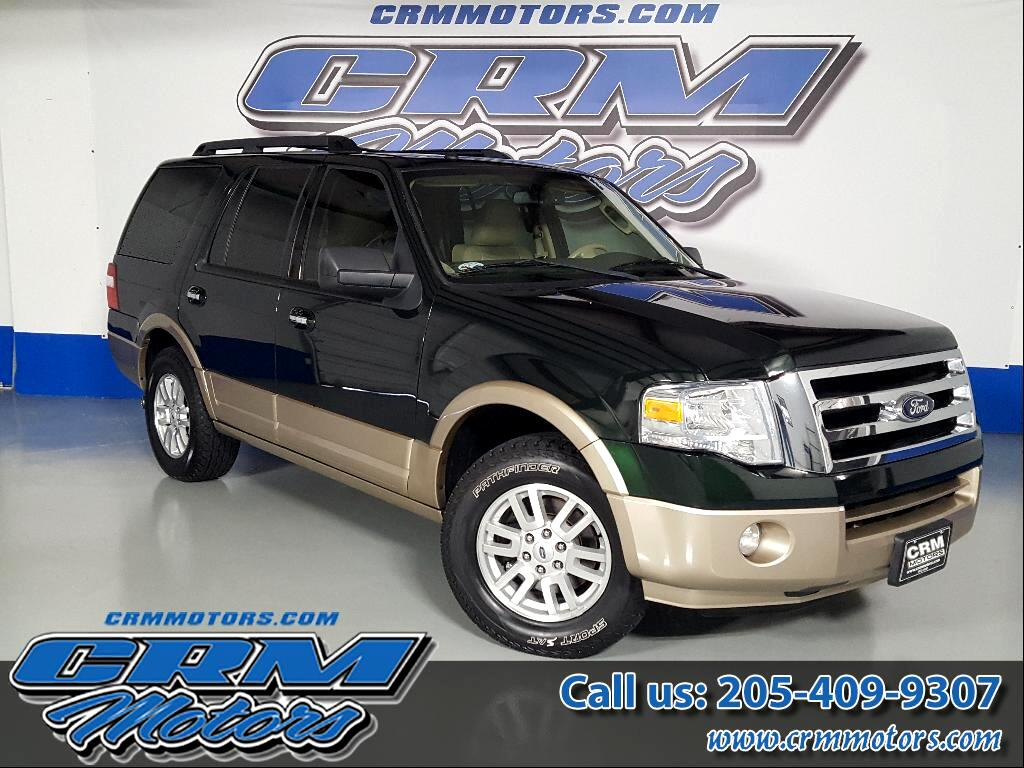 2013 Ford Expedition XLT - leather, third row, one owner and clear auto