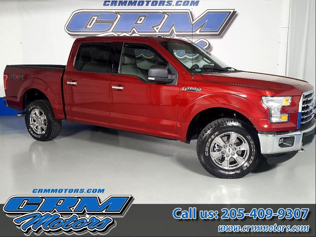 "2015 Ford F-150 SuperCrew Crew Cab 139"" XLT"