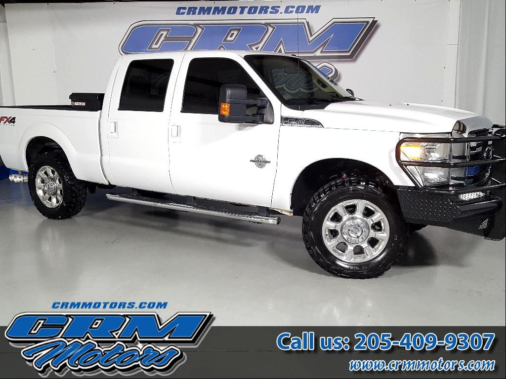 2012 Ford F-250 SD LARIAT CREW CAB 4WD CUSTOM BUMPERS!