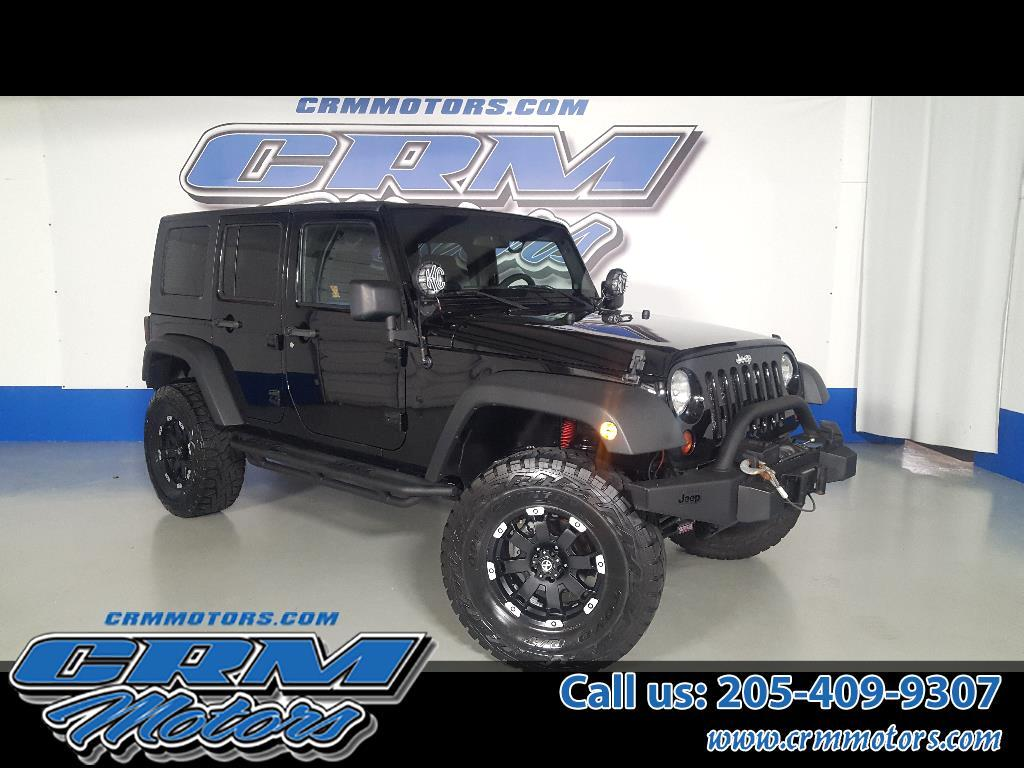 2010 Jeep Wrangler Unlimited 4x4 ISLANDER EDITION, LIFTED, WHEELS, TIRES!