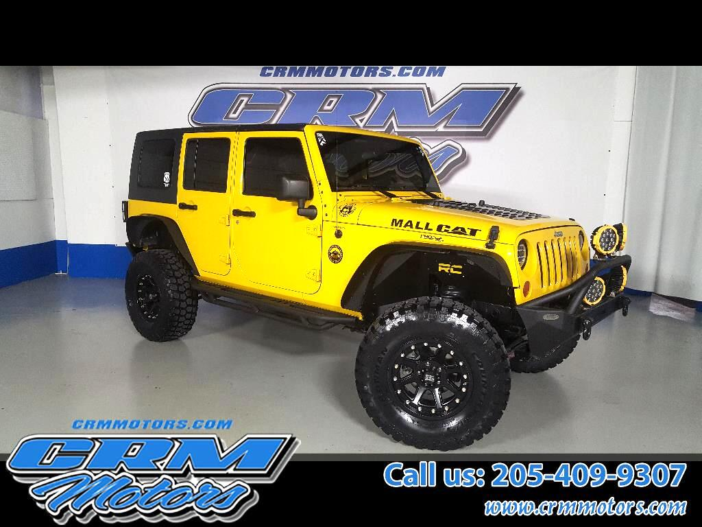 2008 Jeep Wrangler 4WD 4DR UMLIMITED RUBICON, CUSTOM WHEELS, TIRES, &