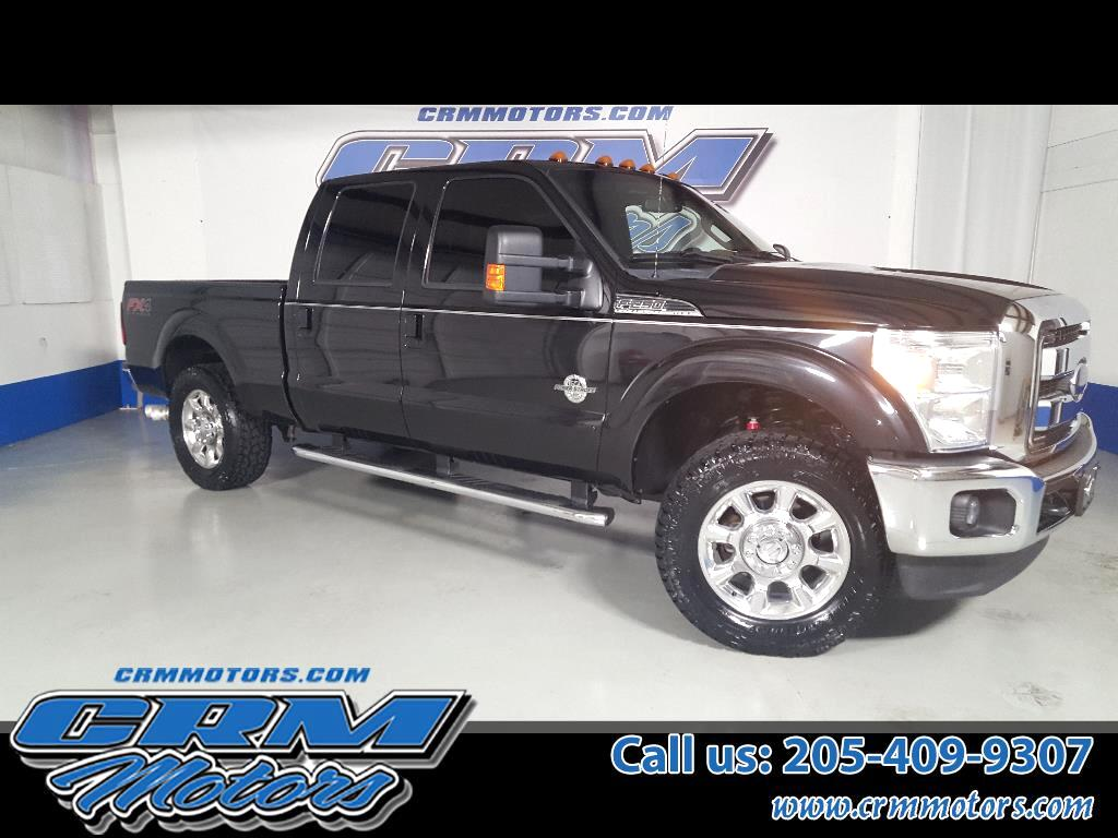 2013 Ford Super Duty F-250 SRW 4WD CREW CAB LARIAT LEATHER NAVIGATION & NEW TIRES