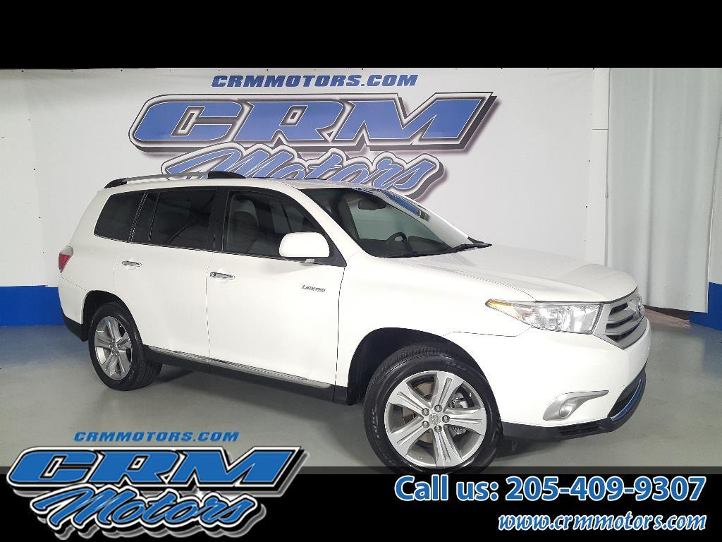2012 Toyota Highlander LIMITED, LEATHER, NAVIGATION, & SUNROOF!