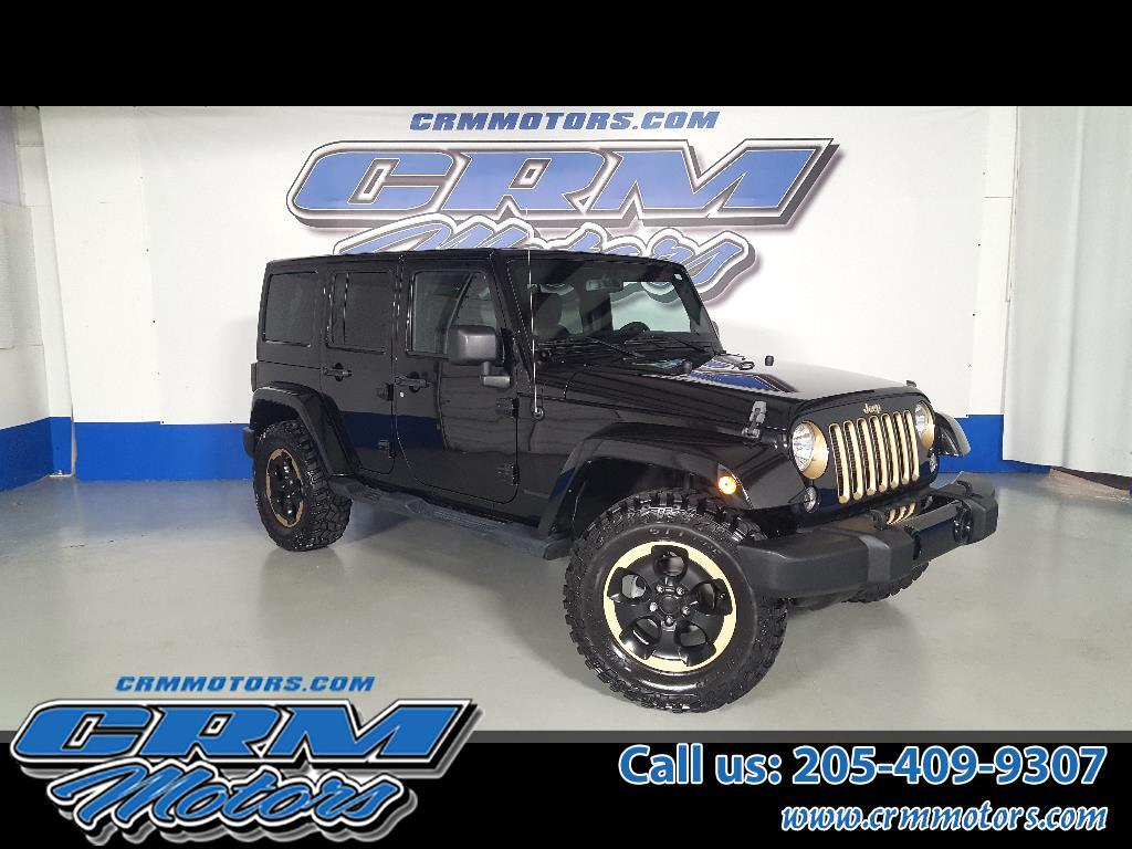 2014 Jeep Wrangler Unlimited 4WD DRAGON EDITION, CUSTOM LEATHER, LIFT & TIRES!