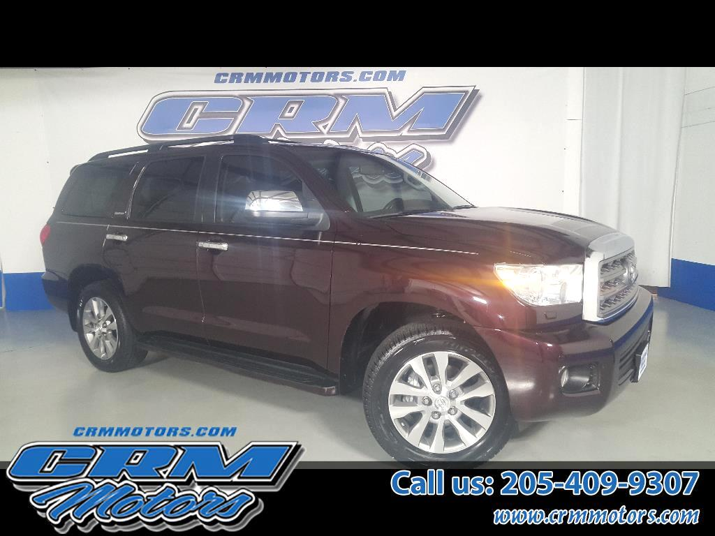 2015 Toyota Sequoia LIMITED, LEATHER, HTD SEAT, & SUNROOF!