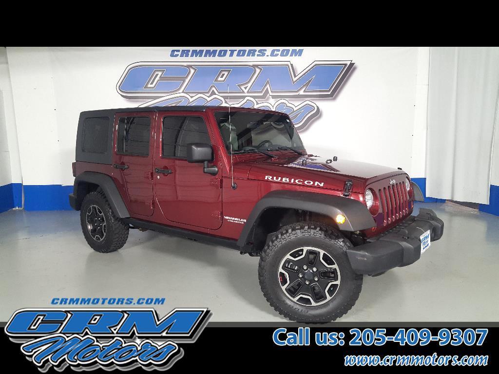 2010 Jeep Wrangler Unlimited 4WD, 4DOOR, RUBICON, CUSTOM LIFT, WHEELS & TIRES!