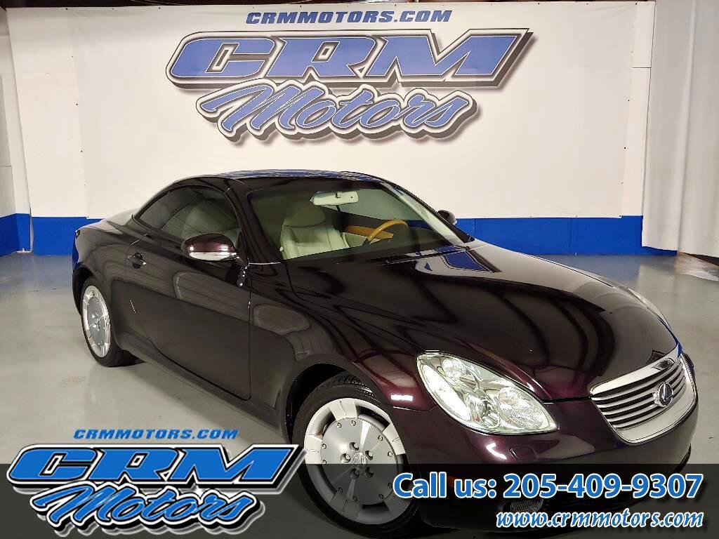 2002 Lexus SC 430 CONVERTIBLE, POWER TOP, READY FOR SPRING!