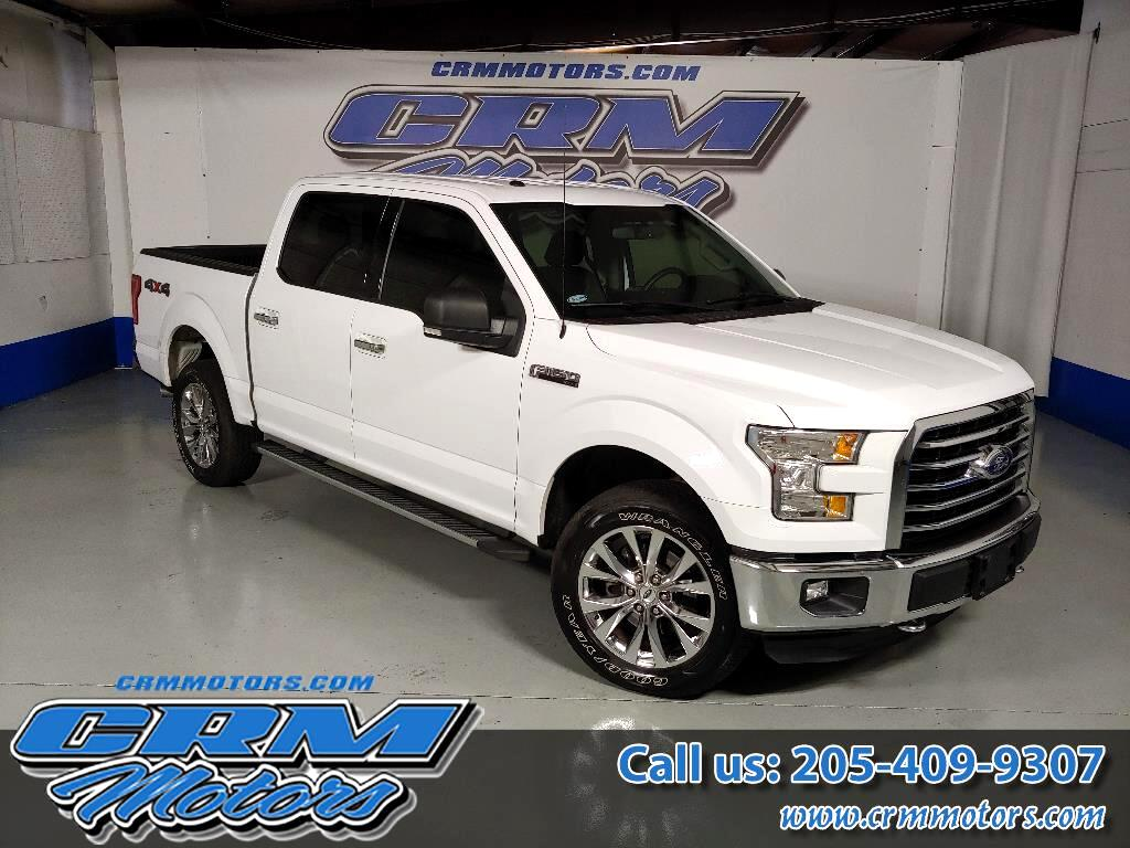 """2016 Ford F-150 4WD SuperCab 145"""" XLT       LOW MILEAGE"""