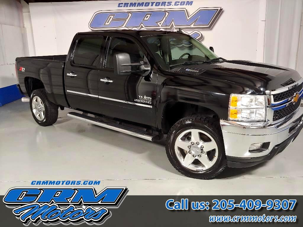 2014 Chevrolet Silverado 2500HD 4WD CREW CAB DURAMAX, LEATHER, READY TO GO!