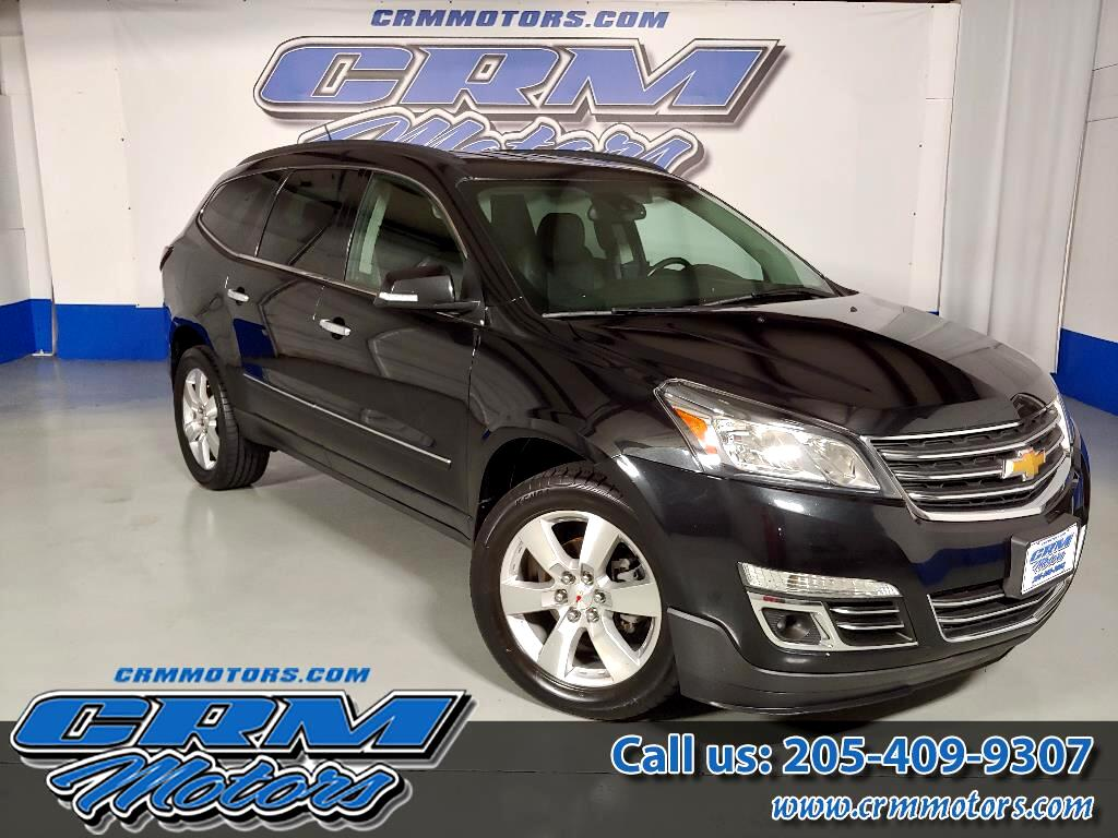 2015 Chevrolet Traverse LTZ, LEATHER, CAPT CHAIRS, HTD SEAT, SUNROOF, & MO