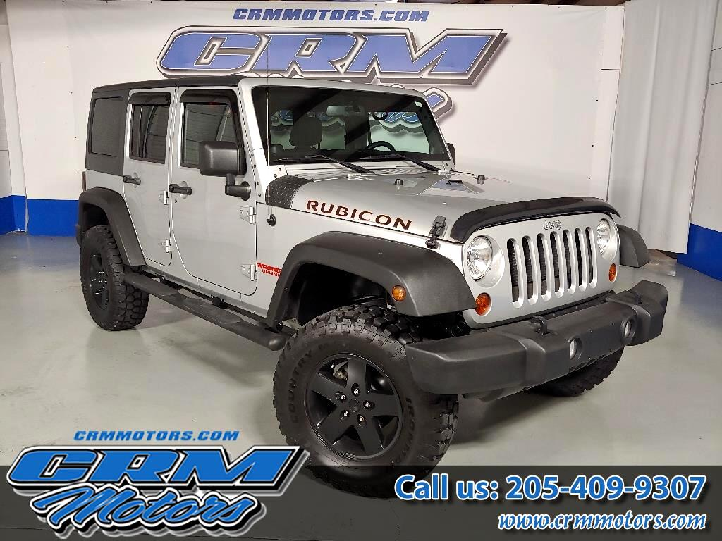 2012 Jeep Wrangler Unlimited RUBICON, 4WD, 4 DR, CUSTOM LIFT, WHEELS, & TIRES!