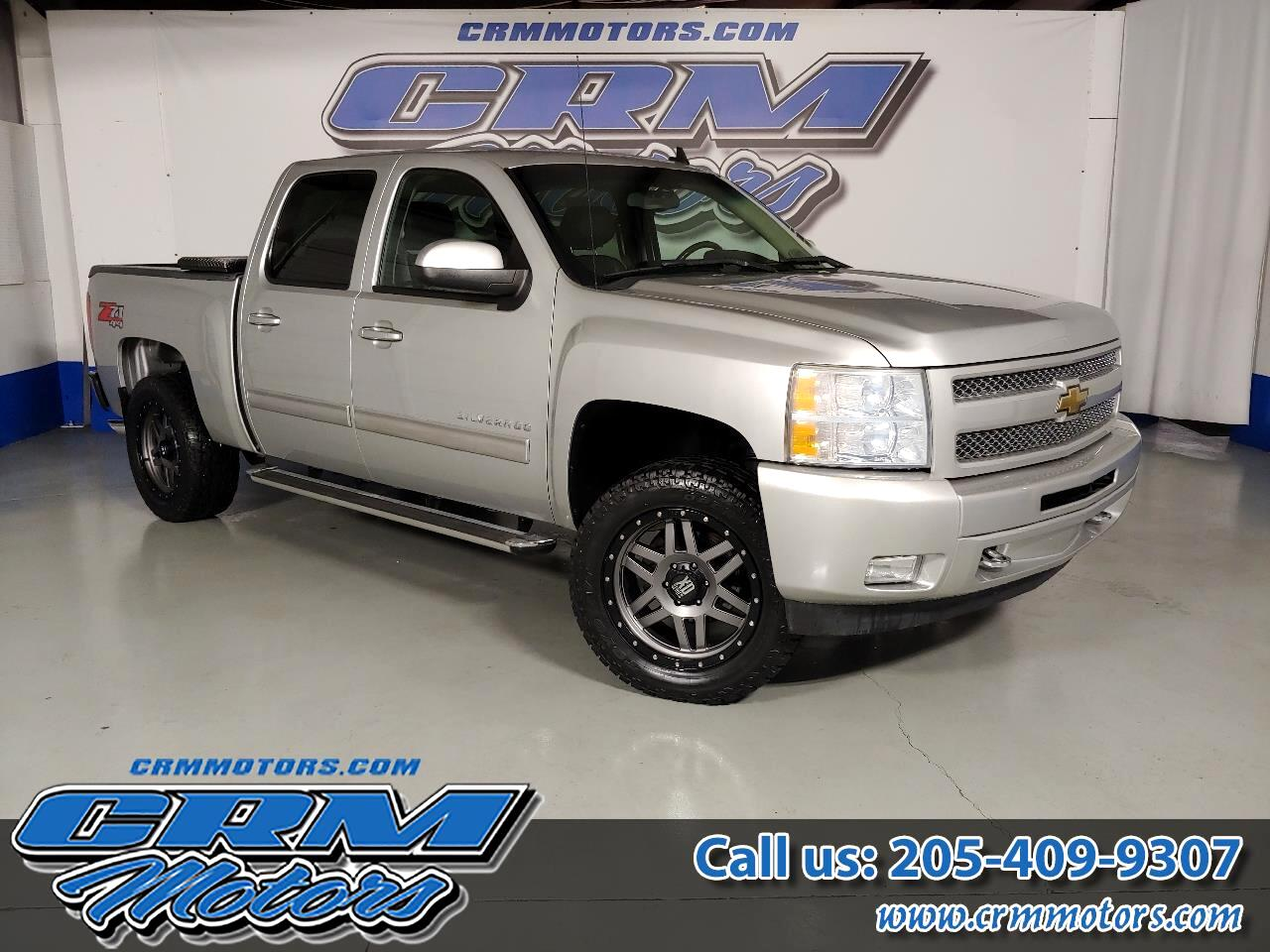2011 Chevrolet Silverado 1500 4WD, Z71, LEVELED, CUSTOMER WHEELS & TIRES!