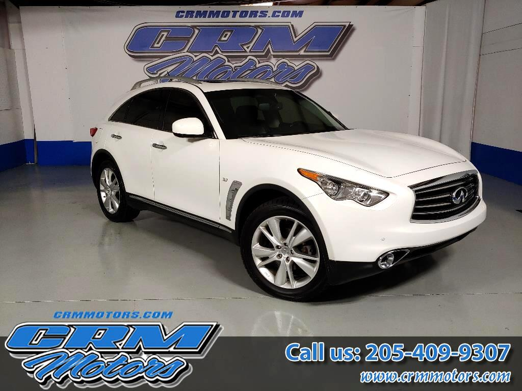 2014 Infiniti QX70 AWD, BEAUTIFUL LEATHER INTERIOR, FULLY LOADED!