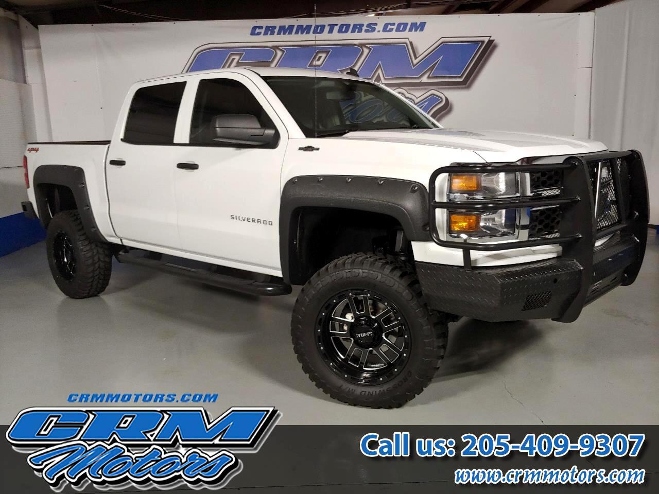 """2014 Chevrolet Silverado 1500 4WD Crew Cab 143.5"""" Work Truck w/2WT"""