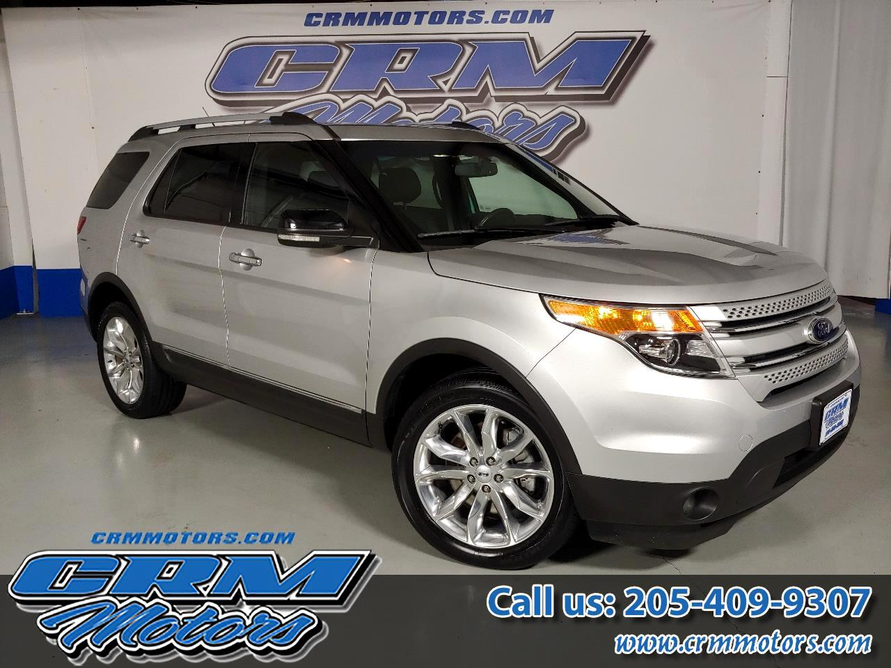 2015 Ford Explorer 4WD, XLT, LEATHER, 50K MILES, WOW!