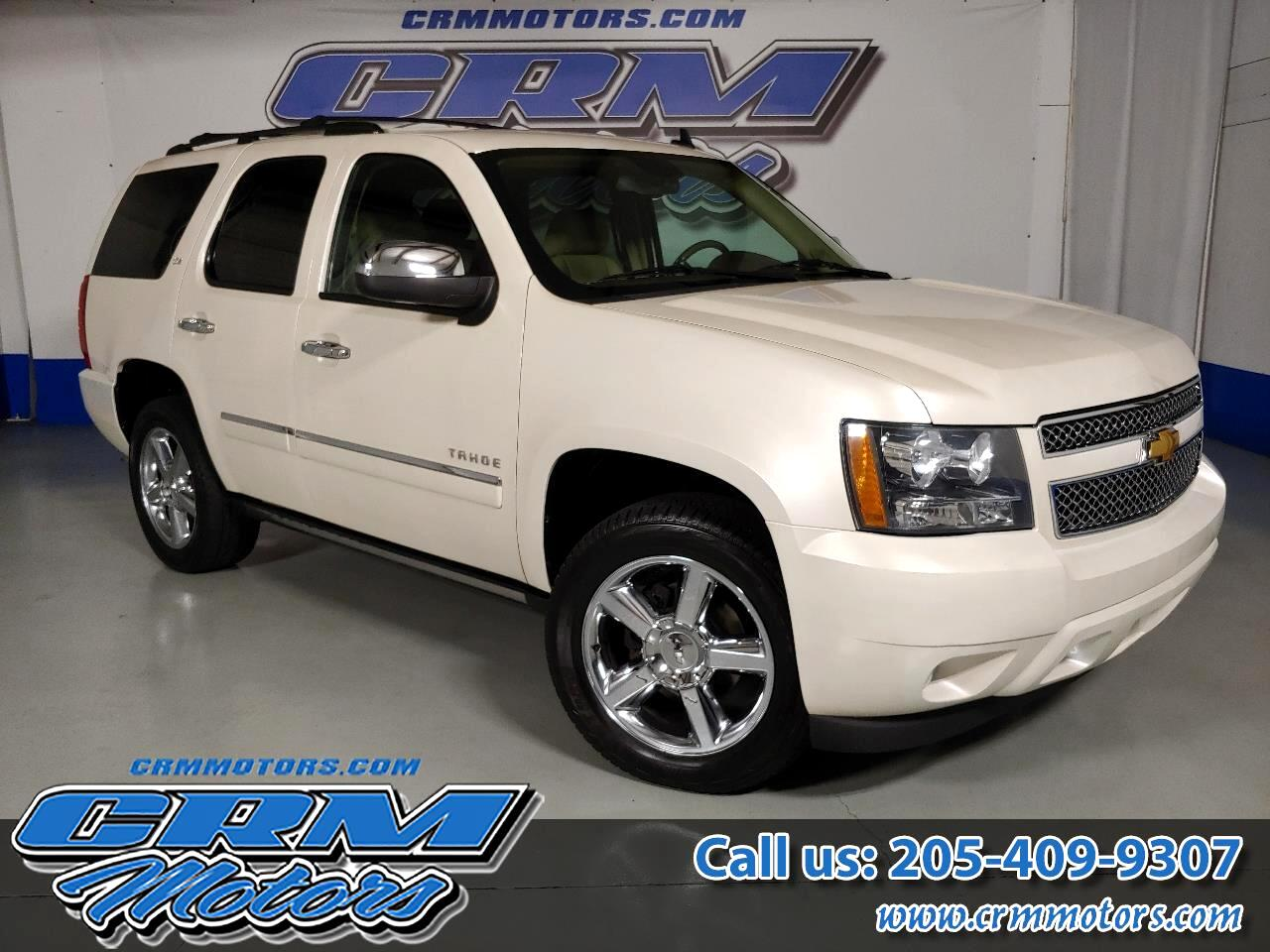 2013 Chevrolet Tahoe 4WD, LTZ, FULLY LOADED, LEATHER, HTD SEAT, NAV, SU