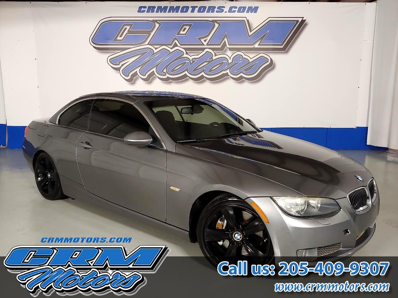 2008 BMW 3 Series CONVERTIBLE 335i WITH BLACK BMW WHEELS!