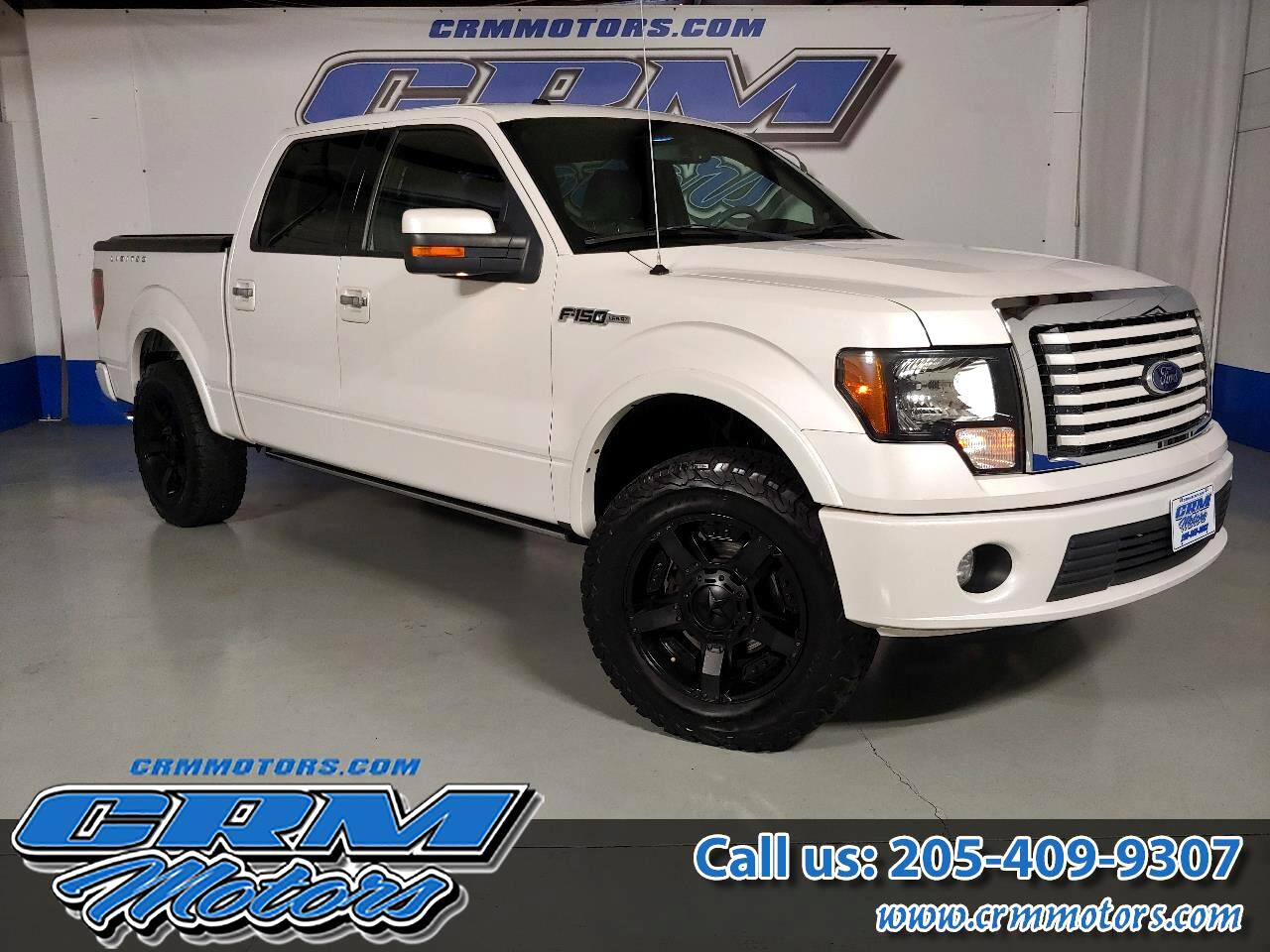 2011 Ford F-150 4WD SUPERCREW LIMITED LARIAT - LIFTED