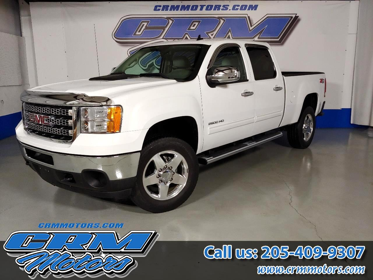 2013 GMC Sierra 2500HD 4WD CREW CAB, LEATHER, AWESOME TRUCK!