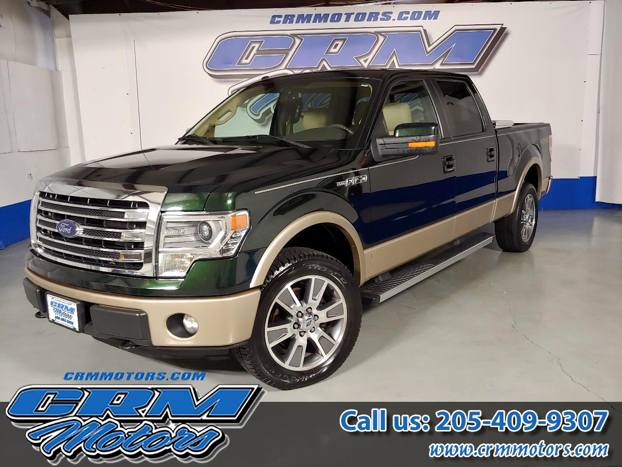 2014 Ford F-150 LARIAT, SUPERCREW, 4X4, BRAND NEW INSIDE/OUT!