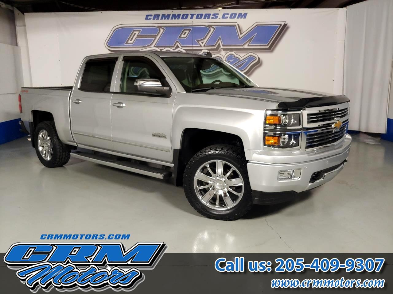 2014 Chevrolet Silverado 1500 4WD CREW CAB HIGH COUNTRY W/ EVERY OPTION!