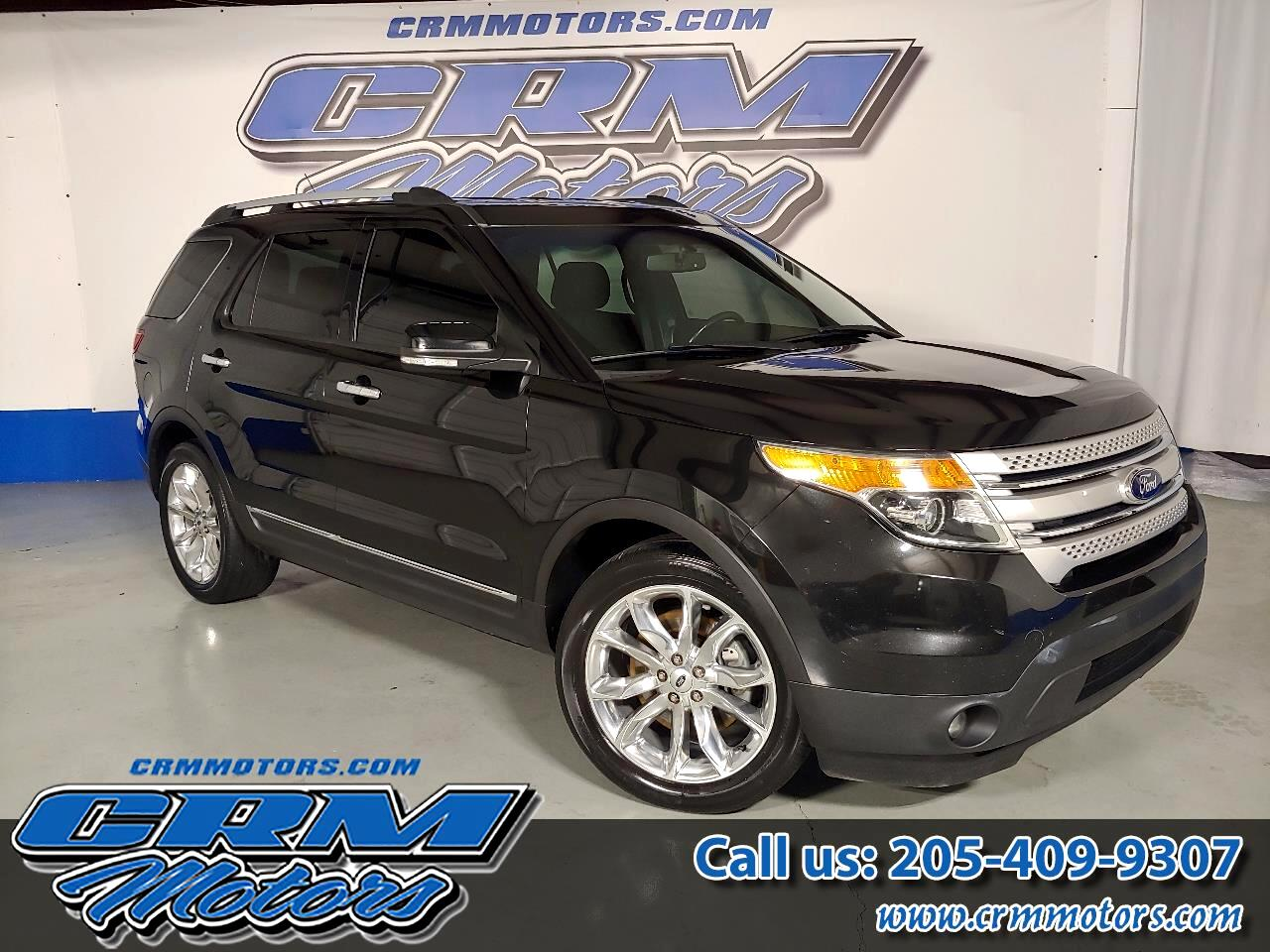 2014 Ford Explorer FWD, XLT, LEATHER & MORE! BEAUTIFUL!
