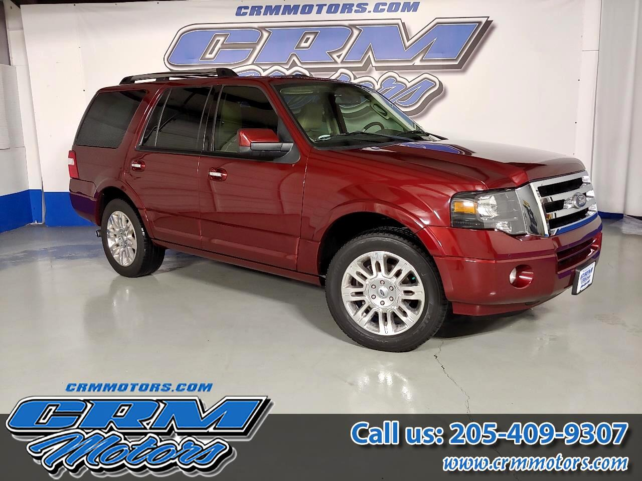 2013 Ford Expedition LIMITED WITH EVERY OPTION! BEAUTIFUL! LOW PAYMENT!