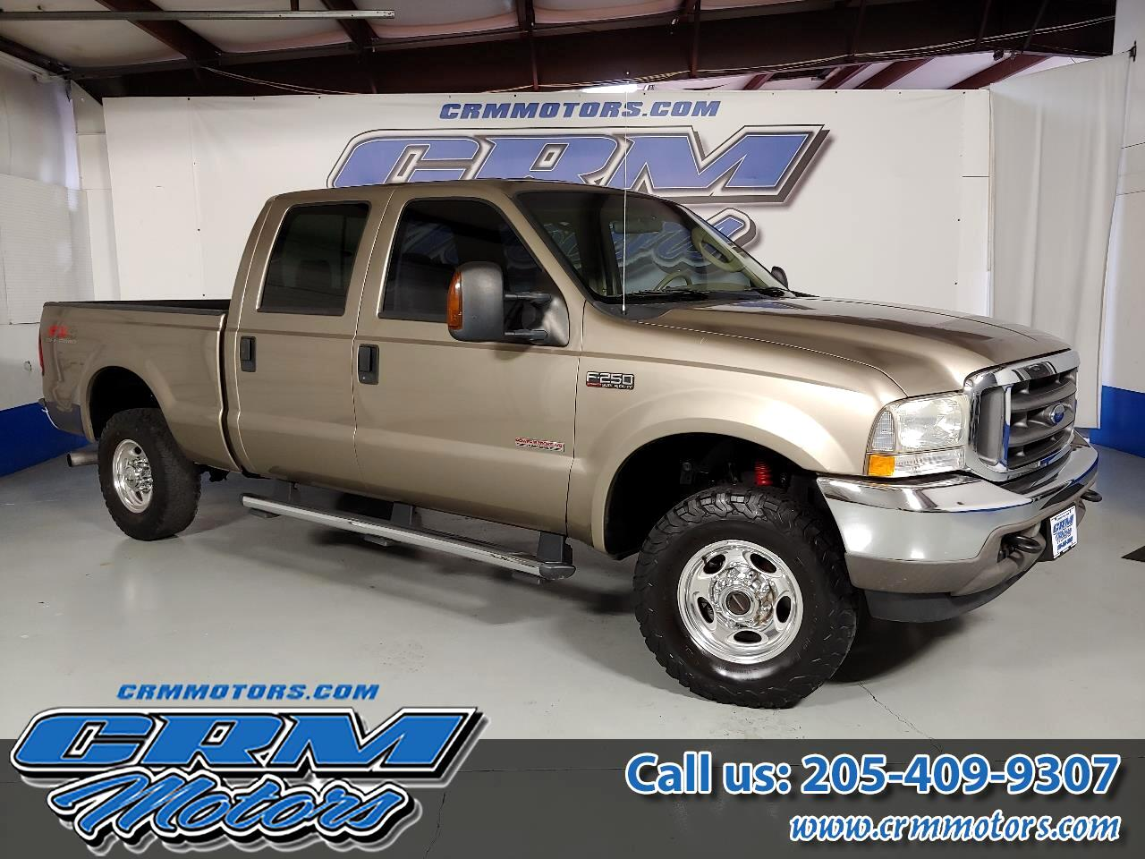 2004 Ford Super Duty F-250 4WD CREW CAB DIESEL! GREAT PRICE!