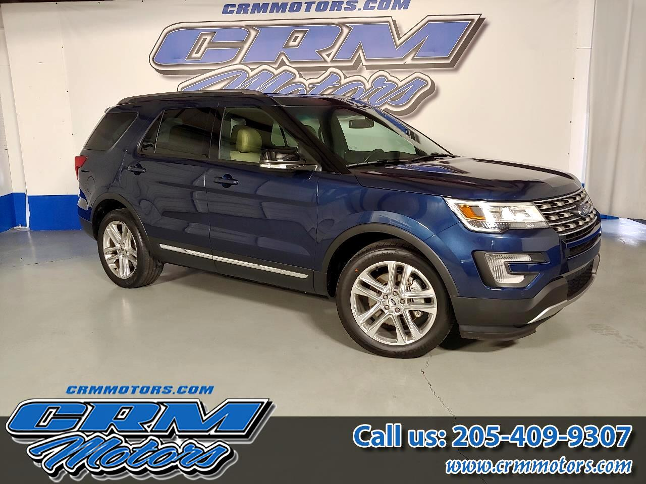 used 2016 ford explorer fwd xlt leather good gas mileage clean for sale in pelham al 35124. Black Bedroom Furniture Sets. Home Design Ideas
