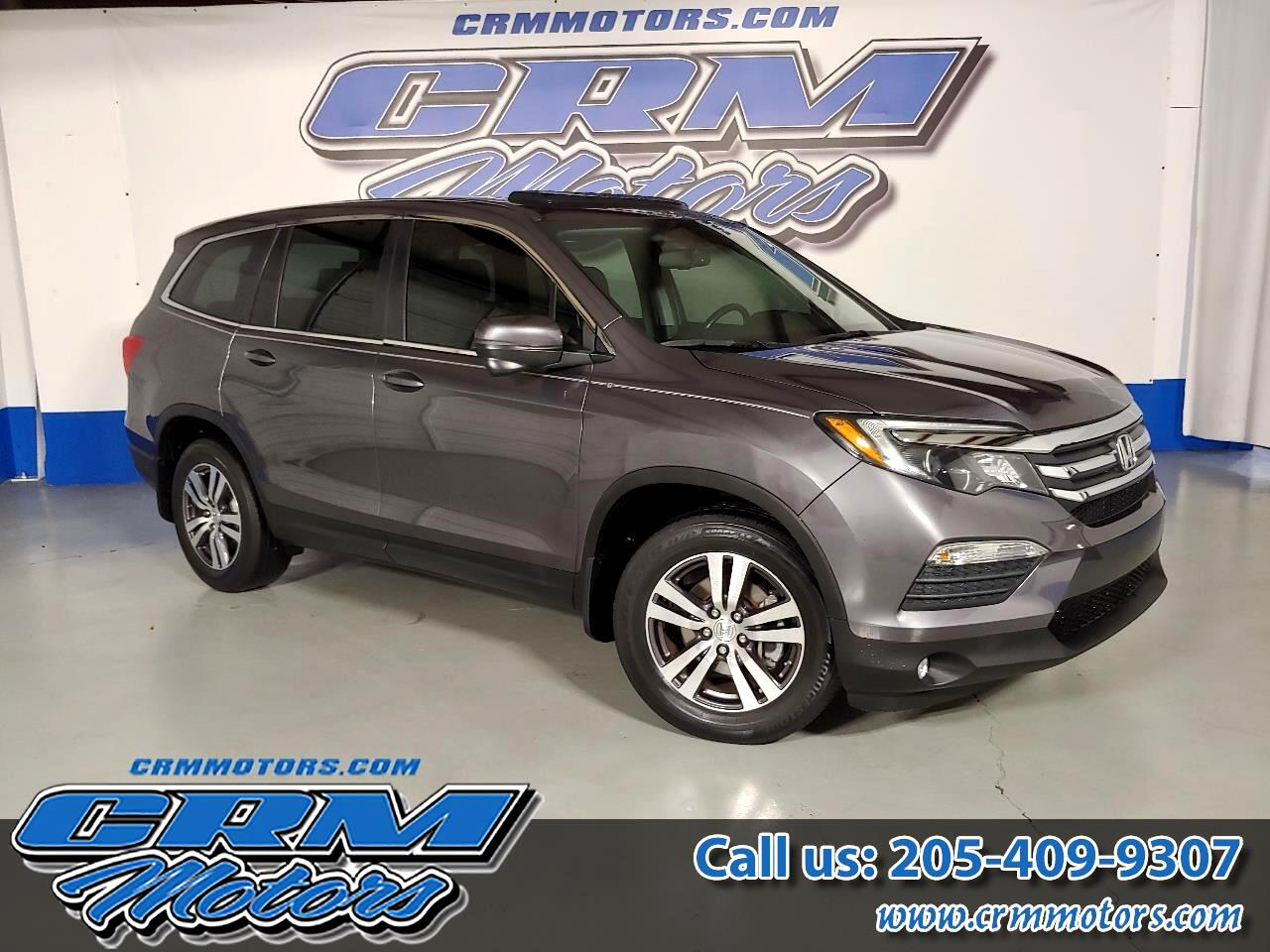 2016 Honda Pilot EX-L, 2WD, LOADED, SAFE WITH GREAT GAS MILEAGE!