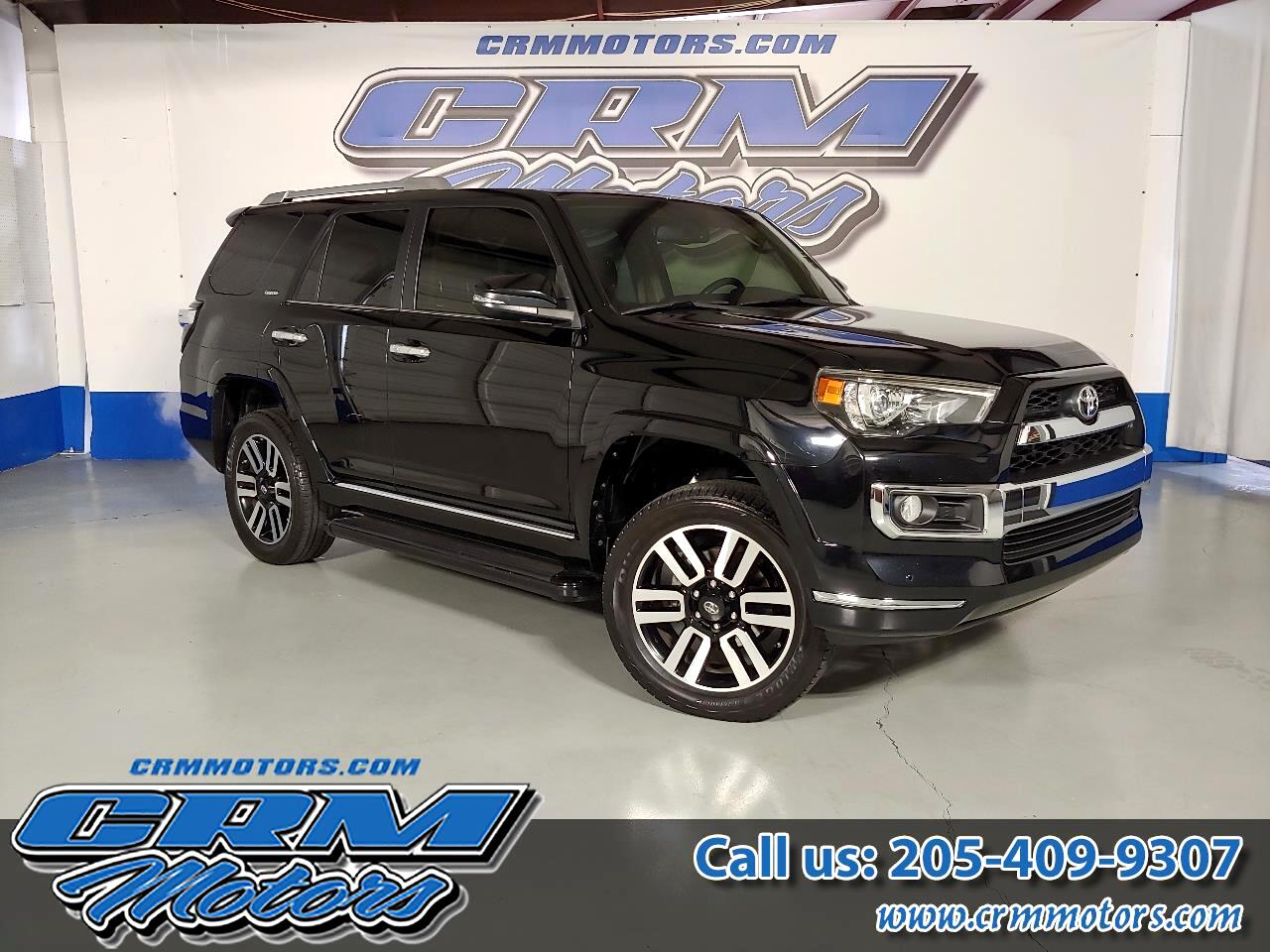2014 Toyota 4Runner 4WD LIMITED V6, LEATHER, SUNROOF, PREMIUM WHEELS!