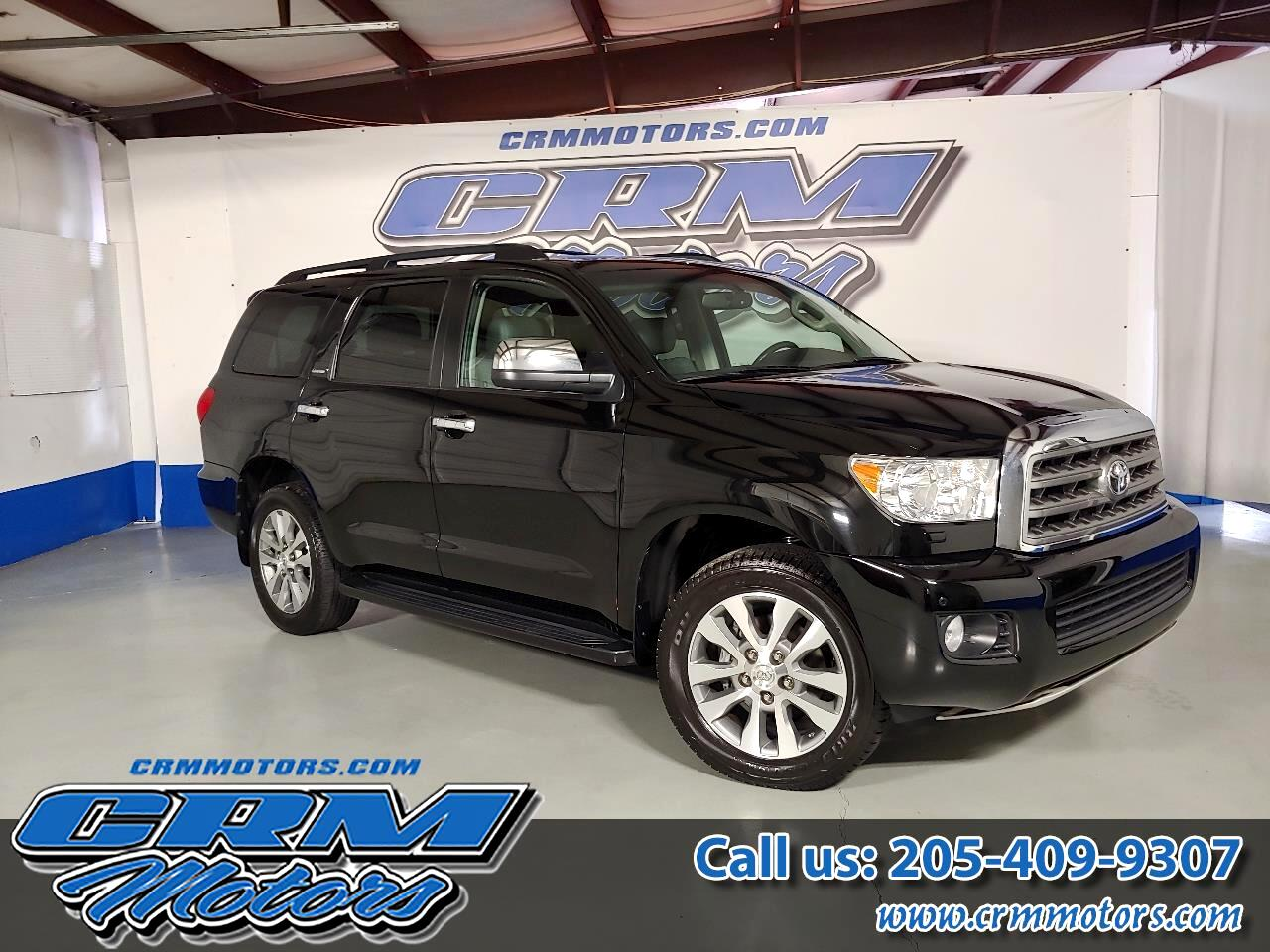 2016 Toyota Sequoia 4WD LIMITED, LEATHER, SUNROOF, CAPT CHAIRS, & MORE