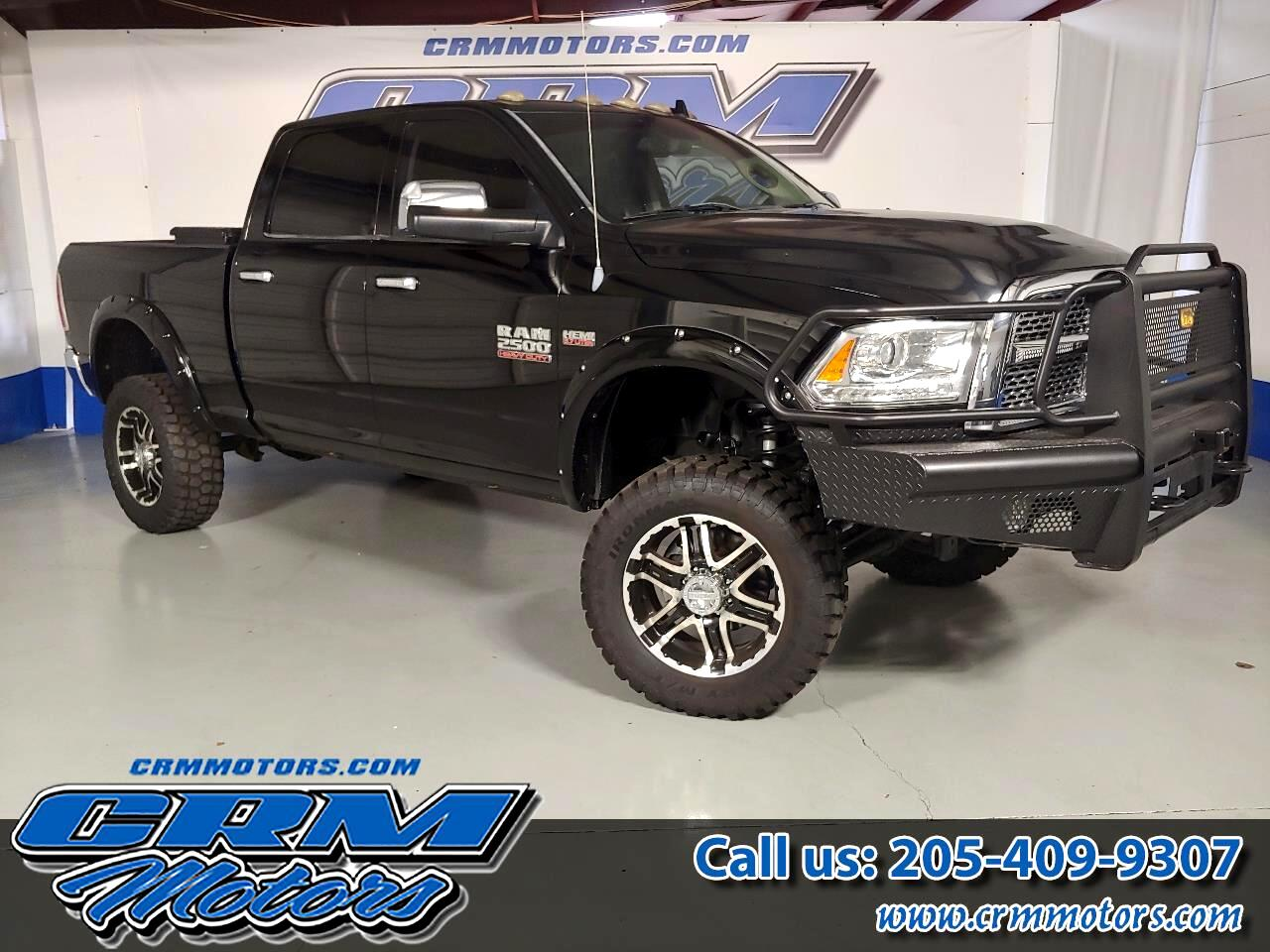 2013 RAM 2500 LARAMIE, MEGA CAB, 4X4, CUSTOM LIFT, WHEELS, & TIR