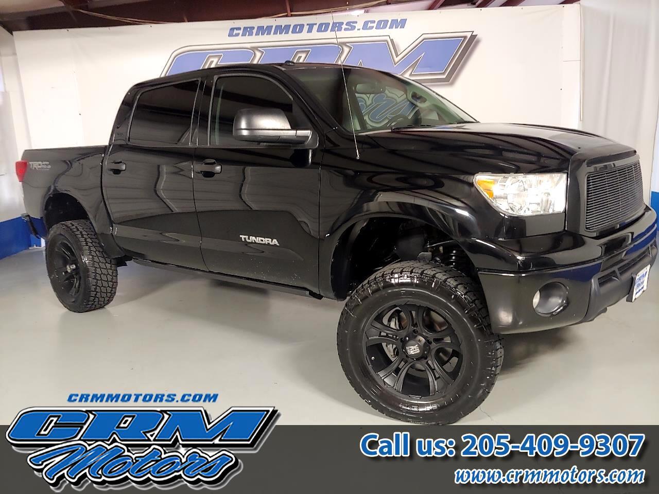 2012 Toyota Tundra 4WD Truck CREWMAX 4X4, CUSTOM 6IN LIFT, WHEELS, & TIRES!
