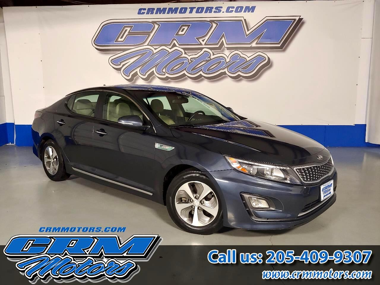 2015 Kia Optima Hybrid 4 DOOR SEDAN - 40 MILES PER GALLON!