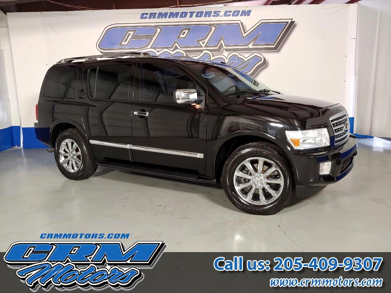 2009 Infiniti QX56 RWD, FULLY LOADED, LEATHER, CAPT CHAIRS, DVD!